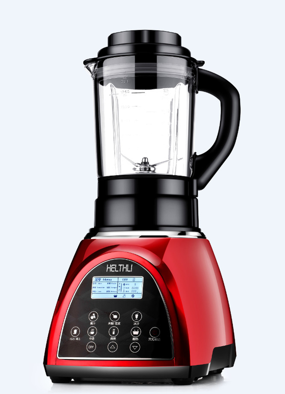 Professional Heated Food Processor And Blender Combo 32000r/Min Max Rotate Speed
